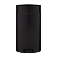 Buy cheap Black Twist Up Oval Shape Solid Deodorant Container 50g from wholesalers