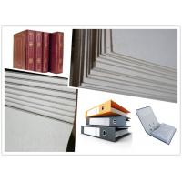 Buy cheap Strong Stiffness Flat Laminated Hard Paper Grey Board Sheets Straw Board Paper from wholesalers