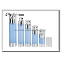 Buy cheap Clear Plastic Airless Pump Bottles Containers , Empty Cosmetic Containers from wholesalers