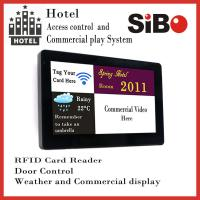 Buy cheap 7 Inch In Wall Android Tablet PC With POE, Temperature Sensor For Smart Home from wholesalers