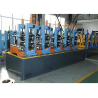 Buy cheap HF Welded ERW Pipe Mill Carbon Steel Erw Tube Mill With Friction Saw Cutting from wholesalers