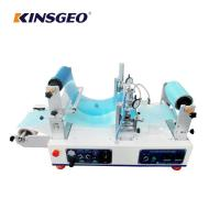 Buy cheap 1200×620×550mm Size 4.5m/min Speed Continuous Hotmelt Coating Laminating Machine Easy Install product