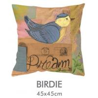 """Buy cheap Print Poly Linen Applique Cushion Covers 18 X 18"""" For Office Bedding Decoration from wholesalers"""