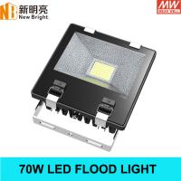 Buy cheap high power led football field flood light 70W with MEANWELL Driver from wholesalers
