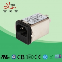 Buy cheap Yanbixin 3A 50Hz 60Hz Inline AC DC Filter Low Pass Transfer Function Metal Case from wholesalers