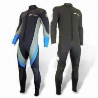 Buy cheap Surfing and Diving Wetsuit with YKK Zipper, Available in S to XXL Sizes from wholesalers