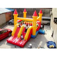 Buy cheap Amusement Park Inflatable Jumping Castle Plato PVC Tarpaulin 6x5m from wholesalers