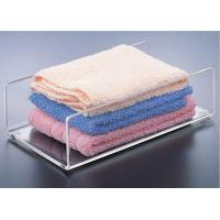 Buy cheap U Shaped Towel Acrylic Display Holders Clear With High Mechanical Strength product