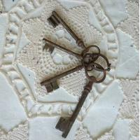 Buy cheap Metal Personalized Key Holder , Antique Style Small Key Chain Rings from wholesalers
