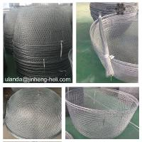 Buy cheap Zinc coating metal wire for fishing net 18 # 1.18 blue sticky tape 45kg per coil 36m per line from wholesalers