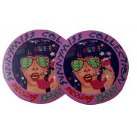 Buy cheap Round Custom Shining Coated Labels Hang Tags , labels hang tags from wholesalers