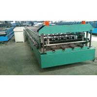 Buy cheap 5.5 Kw Steel Metal Roof Roll Forming Machine With Manual , Decoiler Machine from wholesalers