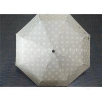 Polka Dot Ultraslim Small Portable Umbrella , Compact  Travel Size Umbrella  For Girls