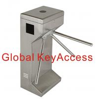 Buy cheap 2 Way Half Height Tripod Turnstile Gate Barrier for Office Building Security Access Control System from wholesalers