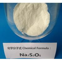 Buy cheap Leather treatment Sodium Metabisulfite Industrial Grade 4.5 PH Value CAS 7681-57-4 from wholesalers
