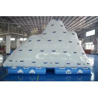 Buy cheap Commercial Inflatable Water Iceberg / Inflatable Aqua Iceberg For Lake from wholesalers