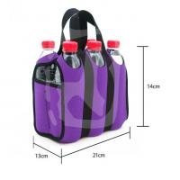 Buy cheap Custom neoprene 6 pack insulated Cooler bag for Outdoor Sports lunch tote handbag made supplier from wholesalers