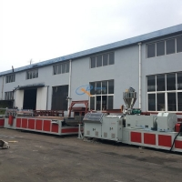 Buy cheap SJSZ80 WPC PVC Hollow Door Panel Production Line from wholesalers