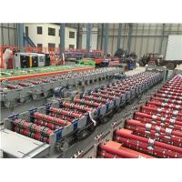 Buy cheap Red Steel Fully Automatic Mill Gi Galvanized Deck Floor Rolling Machine Prices from wholesalers