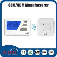 Buy cheap Omron Relay Heat Pump Thermostat / LED System Indicator Digital LCD Display Thermostat from wholesalers