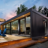 Buy cheap ISO90001 40 Foot Prefab Repurposed Shipping Container House from wholesalers