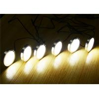 Buy cheap 2W LED Illumination Lights Under Cabinet Puck Lights Kit With Touch Dimming Switch from wholesalers