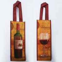Buy cheap Total Wine Skin Bag Non-Woven High Quality Wine Carrier Bag Of Wine from wholesalers