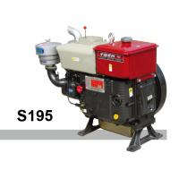 Buy cheap Cast iron Single Cylinder Diesel Engine 4 stroke 12HP Diesel Engine from wholesalers