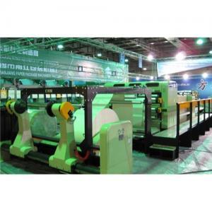 Buy cheap Paper cutting machine/paper cutter/paper sheeting machine/sheeter product