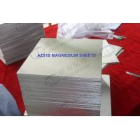 Buy cheap Surface Polished Mg Magnesium Alloy Sheet Az31 Az31b Az61 Plate Material from wholesalers