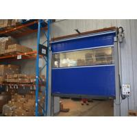 Buy cheap Self resetting fuction High speed overhead doors rolling and gravity down operation from wholesalers