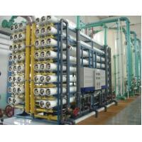 Double RO EDI Pure Water Treatment Plant , Chemical / Electronic Grade RO Unit