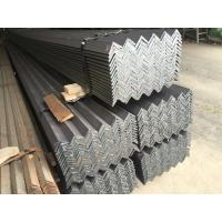 Buy cheap Hot Rolled Heating Mild Steel Angle Bar with Grade EN S235JR S355JR Material product