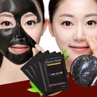 Buy cheap Blackhead Remover Nose Mask Chin Forehead Black Head Mask Acne Treatment Pore Strip Black Mask Peeling Skin Care from wholesalers