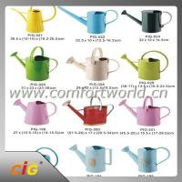 Buy cheap Metal / Plastic Garden Flower Watering Can 1 - 10L Large Capacity Garden Tool from wholesalers