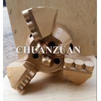 Buy cheap Golden PDC Drag Bit 133MM 3 Blades With Special Load Balanced Cutter product