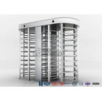 Buy cheap Full High Access Control Turnstile Dual Passage RS485 Communications Interface from wholesalers