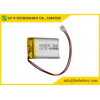 Buy cheap LP502535 Rechargeable Lithium Polymer Battery 3.7V 400mah PL502535 li pol batteries from wholesalers