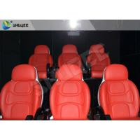 Buy cheap Hydraulic Dynamic 5D Theater System Red Motion Chairs With Special Effect product