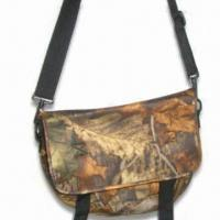 Buy cheap Camo Hunting Shoulder Bag, Made of Camouflage, Neoprene or Polyester, with Quick Release Buckle product