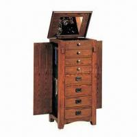 Buy cheap Antique Wooden Wine Rack with 8 Drawers, 3 Doors and Mirror from wholesalers