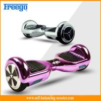 Buy cheap Metallic 6.5'' Self Balancing Scooter Chrome Two Wheeled Electric from wholesalers