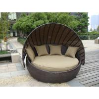 Buy cheap Outdoor Rattan Furniture , Aluminium Frame Resin Wicker Daybed from wholesalers