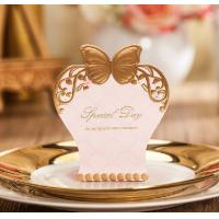 Buy cheap Romantic Candy Box Elegant Heart Luxury Decoration Paper Flower Bride Laser Cut Party Sweet Wedding Favors and Gift Bag from wholesalers