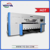 Buy cheap High precision uv textile printer 1.8m print width non-woven fabric printer, silk, fibre cloth printing machine from wholesalers