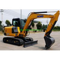 Buy cheap XCMG XE60D 6 Tons Mini Crawler Excavator Machine With Hydraulic System from wholesalers