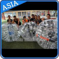 Buy cheap Outdoor Inflatable Bumper Ball , Loopyball bubble soccer , Bubble football from wholesalers