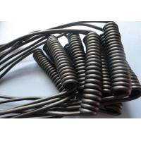Buy cheap Retractable Spiral Power Cable , 2 Core Coiled Electrical Cord High Flexibility product