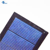 China 0.1KG 0.5 Watt Solar Panel , Low Voltage Solar Panel Glass And Plastic Frame on sale