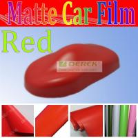 Buy cheap red matte car body vinyl fitting accessories for vehicle wrapper and auto paint protection from wholesalers